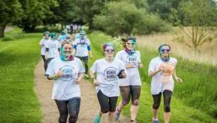 Colour Obstacle Rush at Willen Lake.JPG